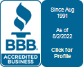 Pertee Monuments, LLC. is a BBB Accredited Monument in Wooster, OH